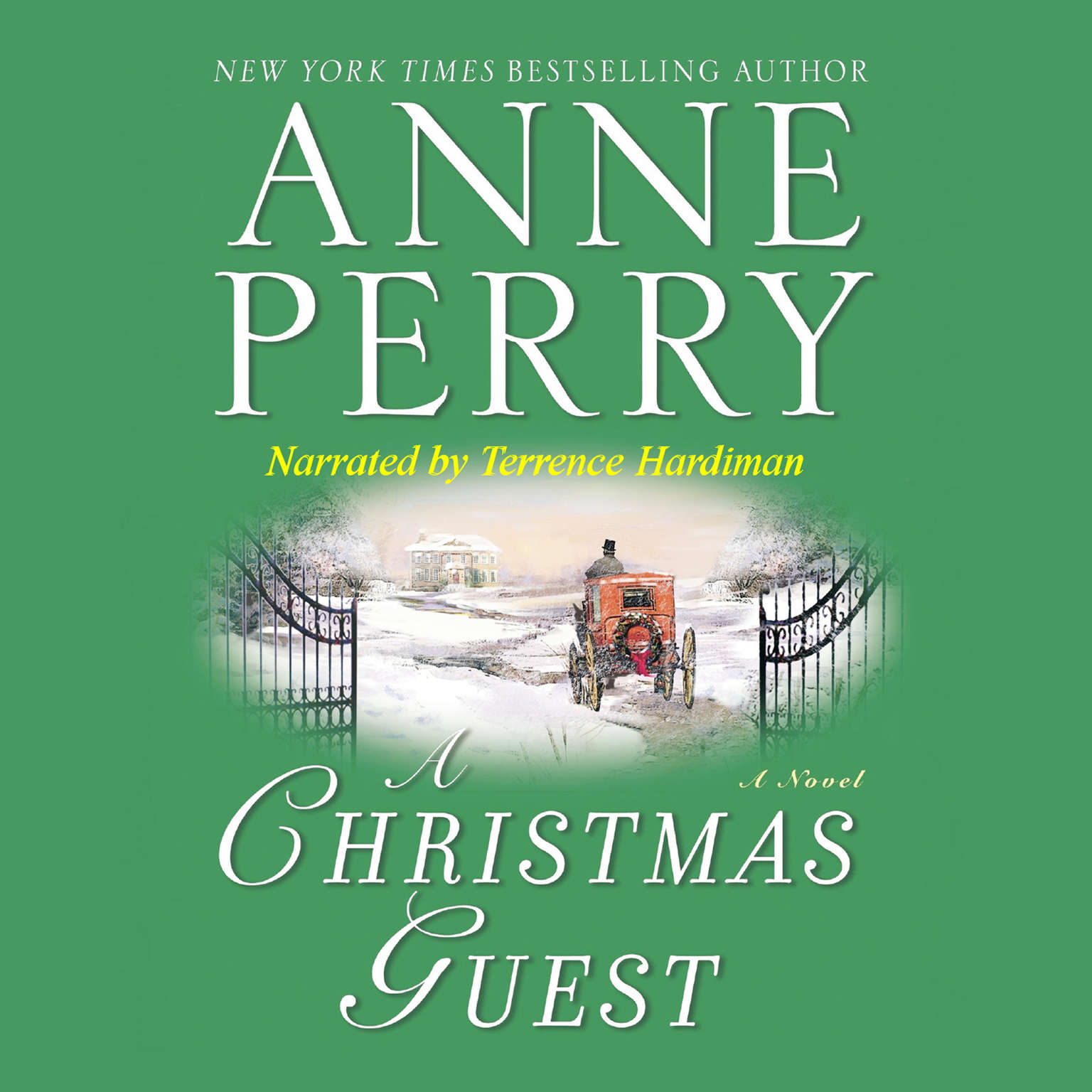 Printable A Christmas Guest Audiobook Cover Art