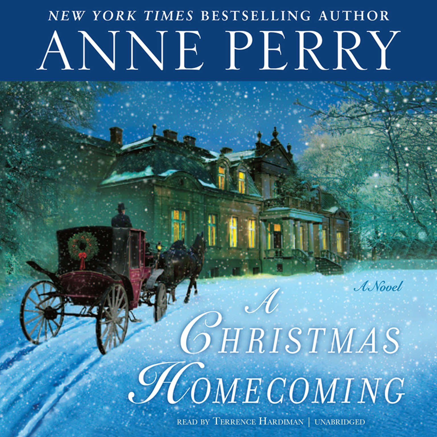 Printable A Christmas Homecoming Audiobook Cover Art