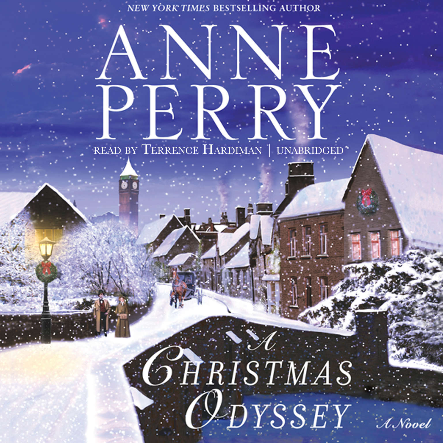 Printable A Christmas Odyssey Audiobook Cover Art