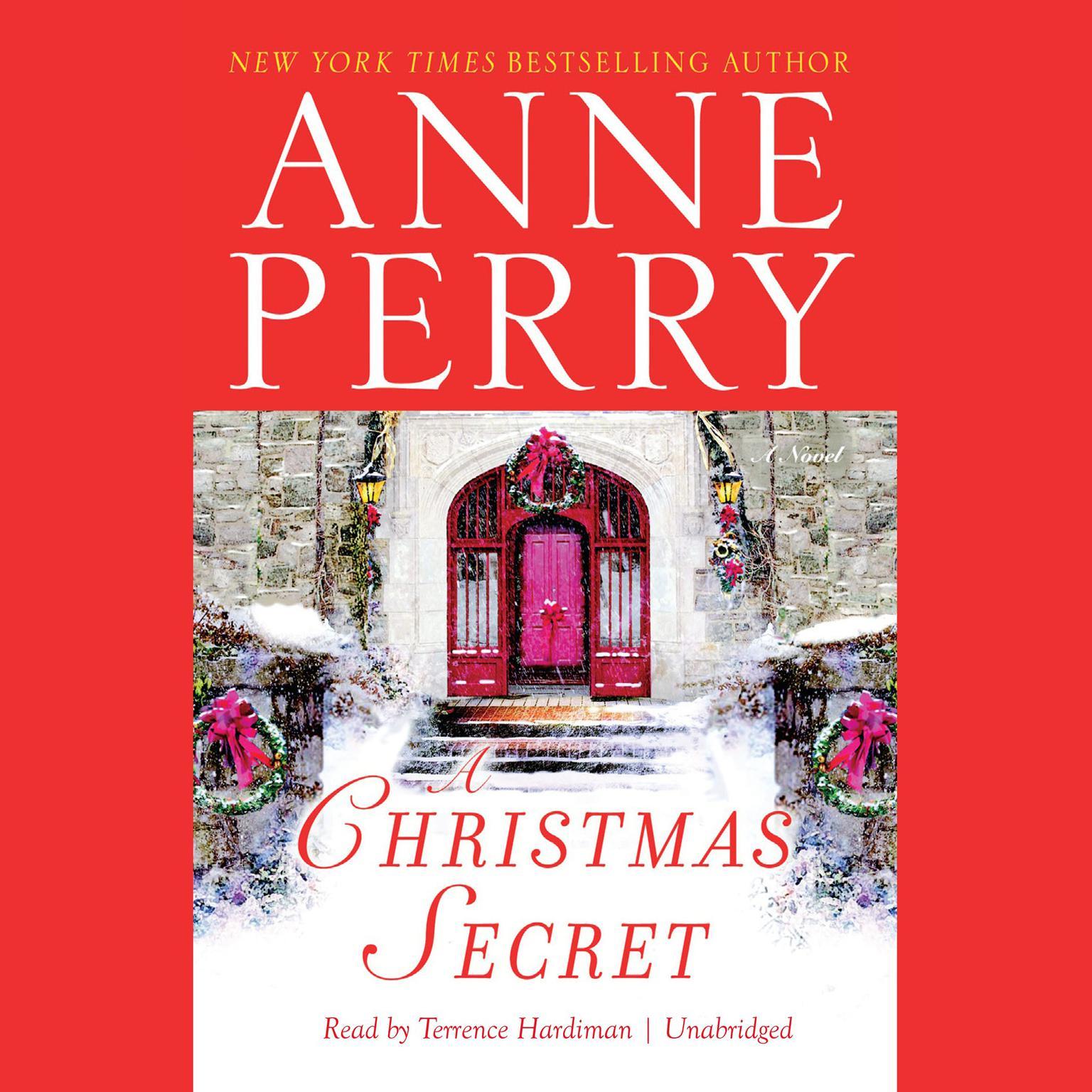Printable A Christmas Secret Audiobook Cover Art