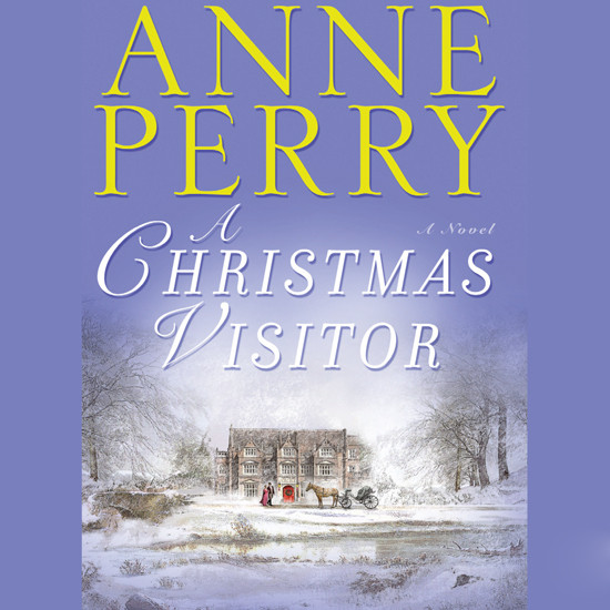 Printable A Christmas Visitor Audiobook Cover Art