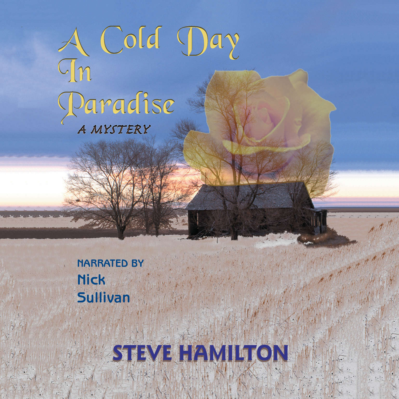 Printable A Cold Day in Paradise Audiobook Cover Art