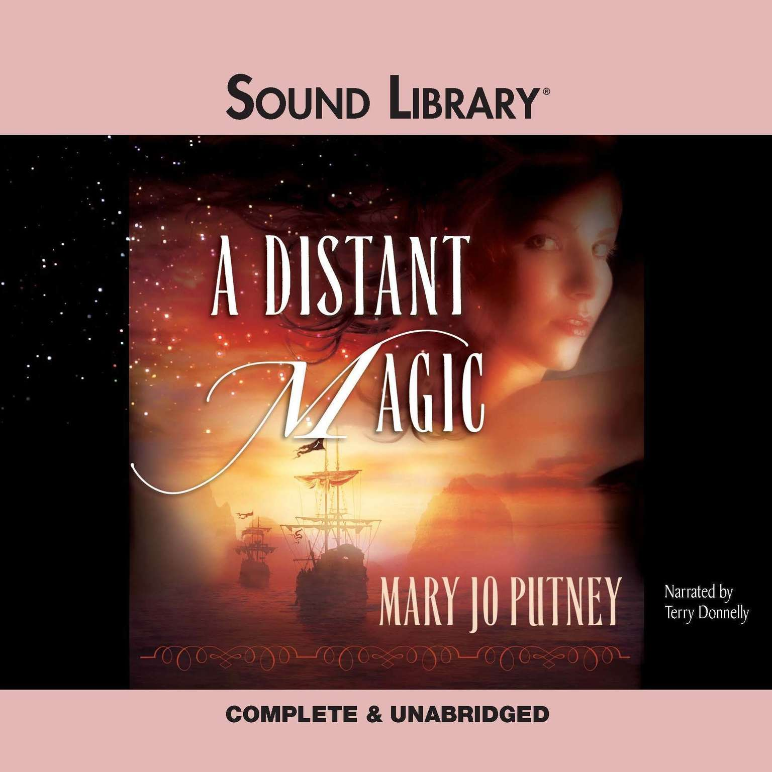 Printable A Distant Magic Audiobook Cover Art