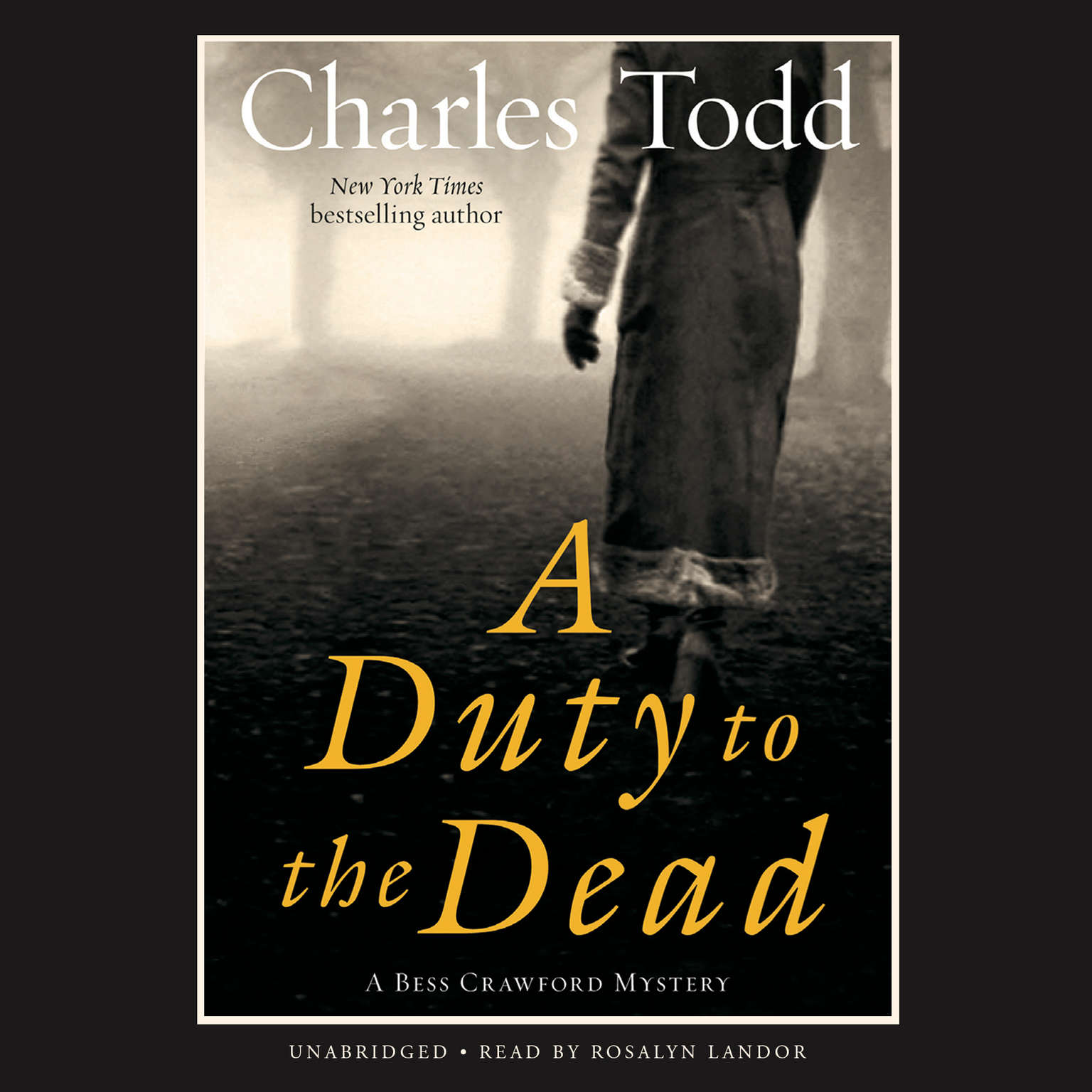 Printable A Duty to the Dead Audiobook Cover Art