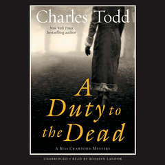 A Duty to the Dead Audiobook, by Charles Todd