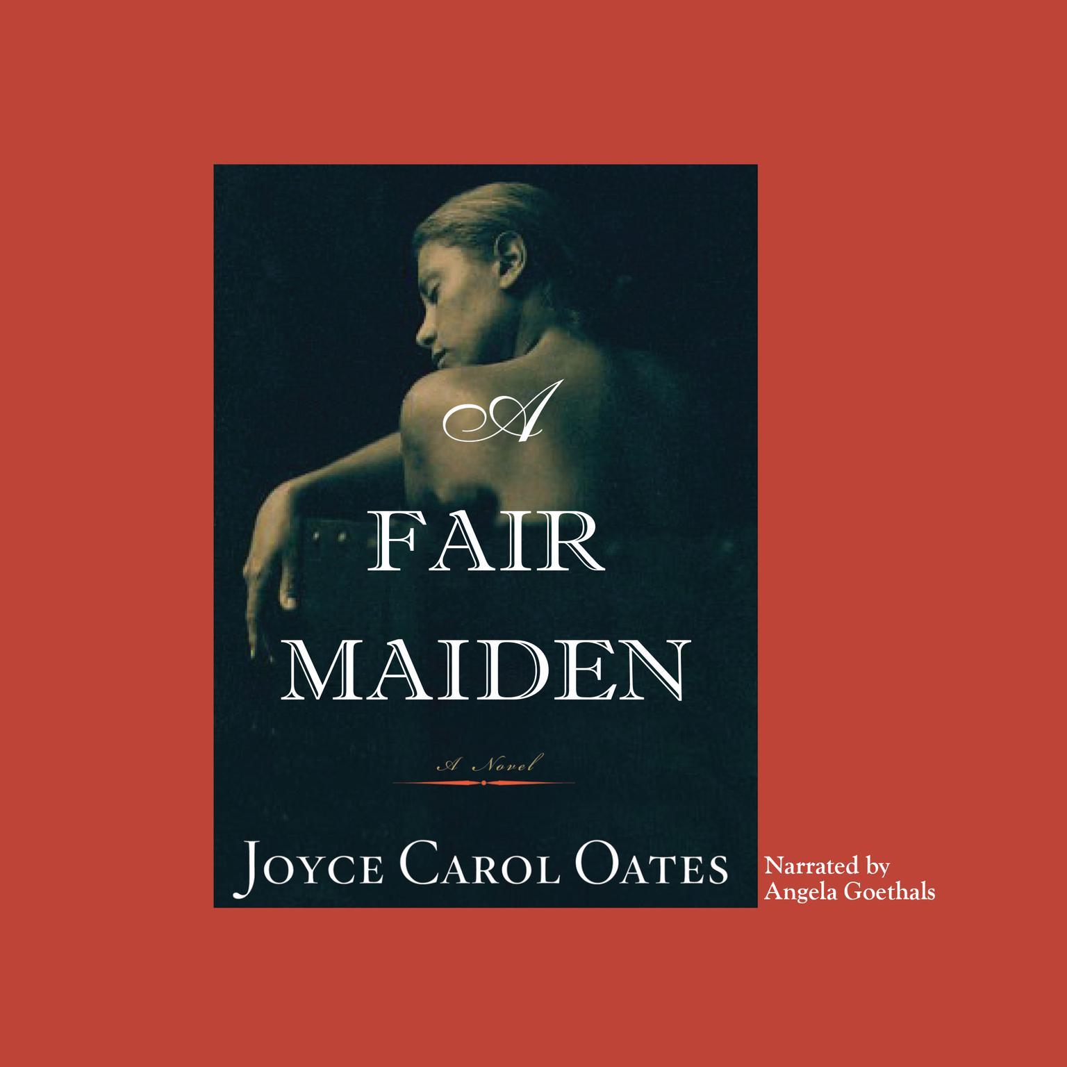 Printable A Fair Maiden Audiobook Cover Art