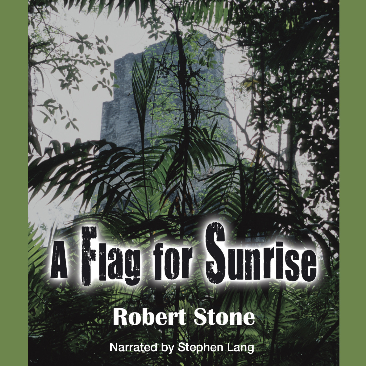 Printable A Flag for Sunrise Audiobook Cover Art