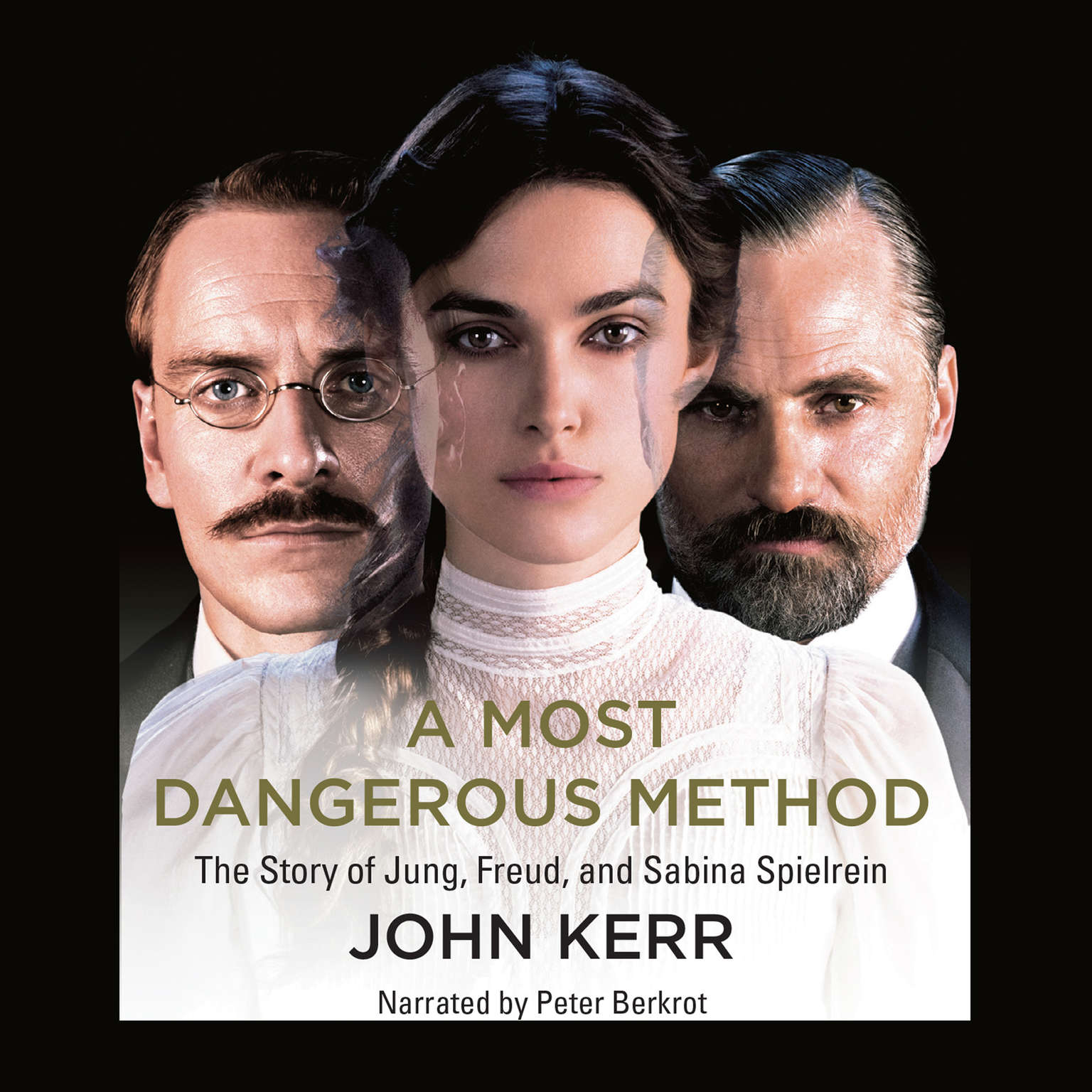 Printable A Most Dangerous Method: The Story of Jung, Freud, & Sabina Spielrein Audiobook Cover Art