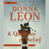 A Question of Belief Audiobook, by Donna Leon