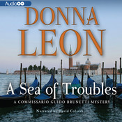 A Sea of Troubles Audiobook, by Donna Leon