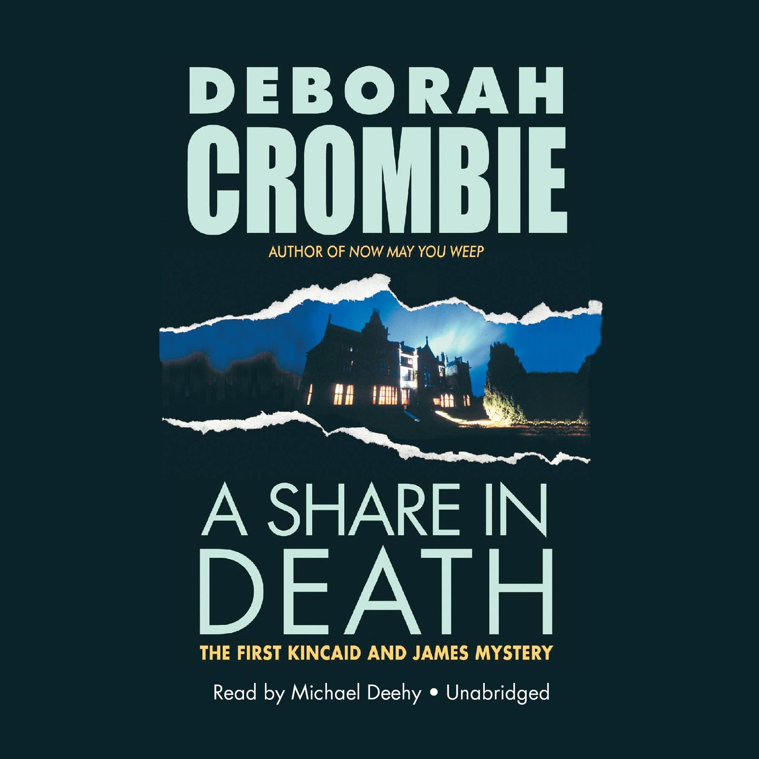 Printable A Share in Death Audiobook Cover Art