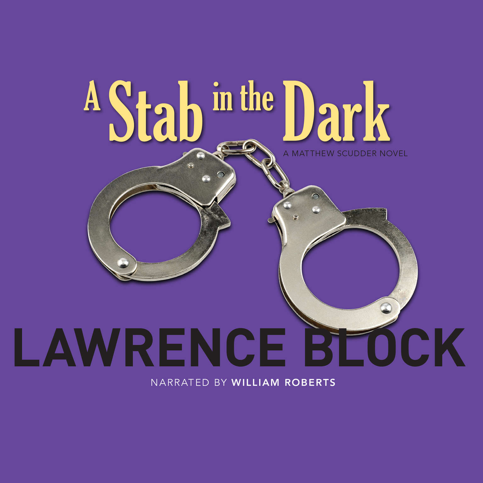 Printable A Stab in the Dark: A Matthew Scudder Novel Audiobook Cover Art