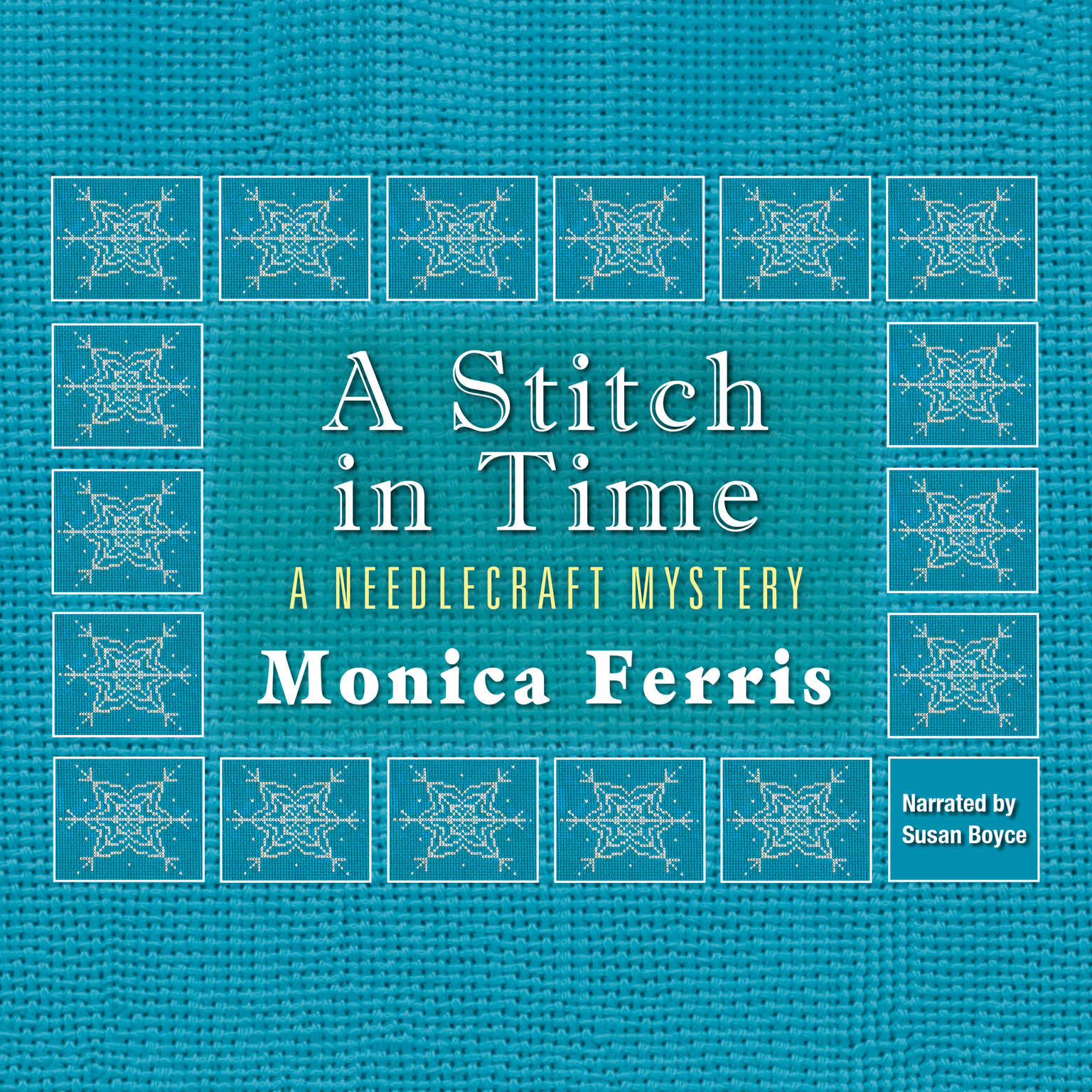 Printable A Stitch in Time Audiobook Cover Art