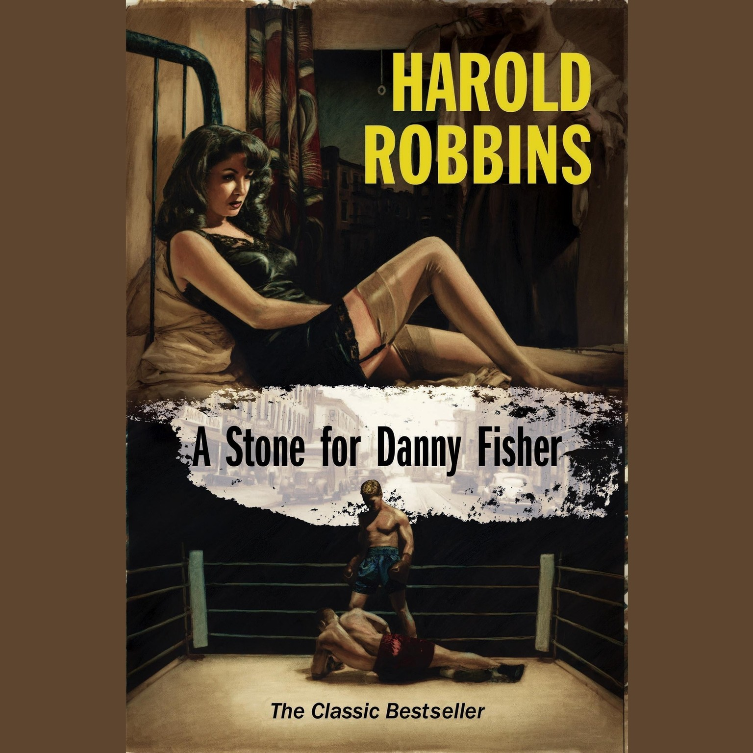 Printable A Stone for Danny Fisher Audiobook Cover Art