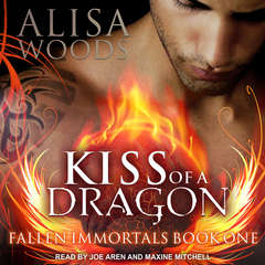 Kiss of a Dragon Audiobook, by Alisa Woods