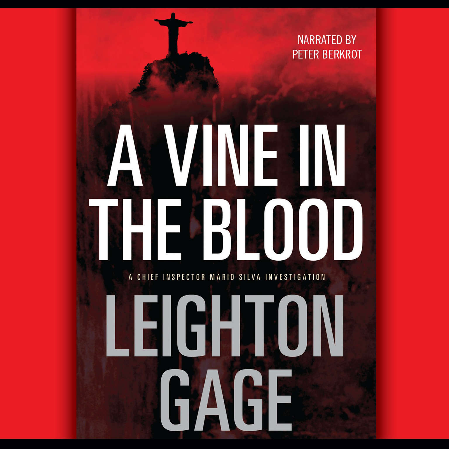 Printable A Vine in the Blood Audiobook Cover Art