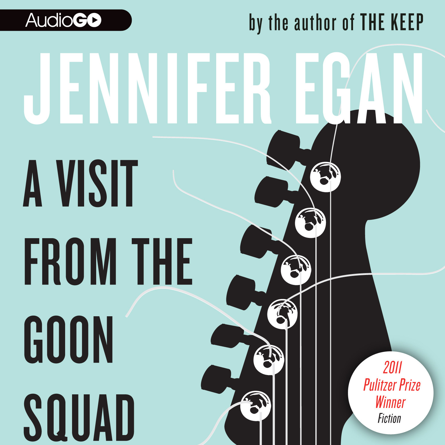 Printable A Visit from the Goon Squad Audiobook Cover Art