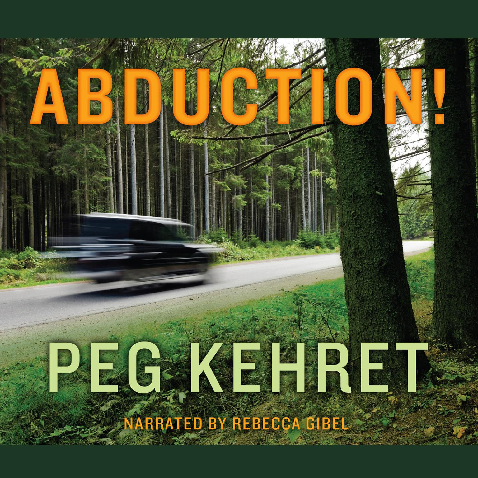 Printable Abduction! Audiobook Cover Art