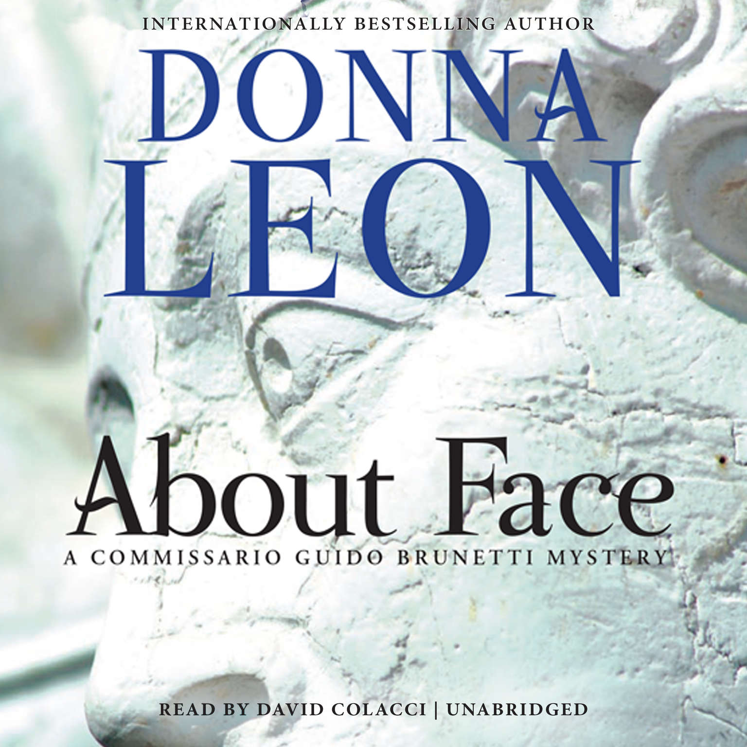 Printable About Face Audiobook Cover Art