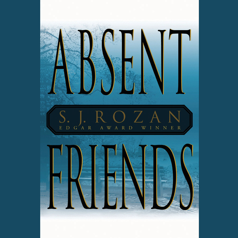 Printable Absent Friends Audiobook Cover Art