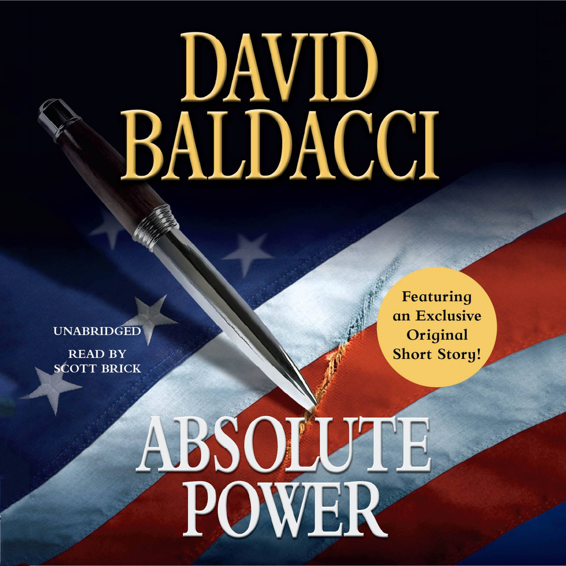Printable Absolute Power Audiobook Cover Art
