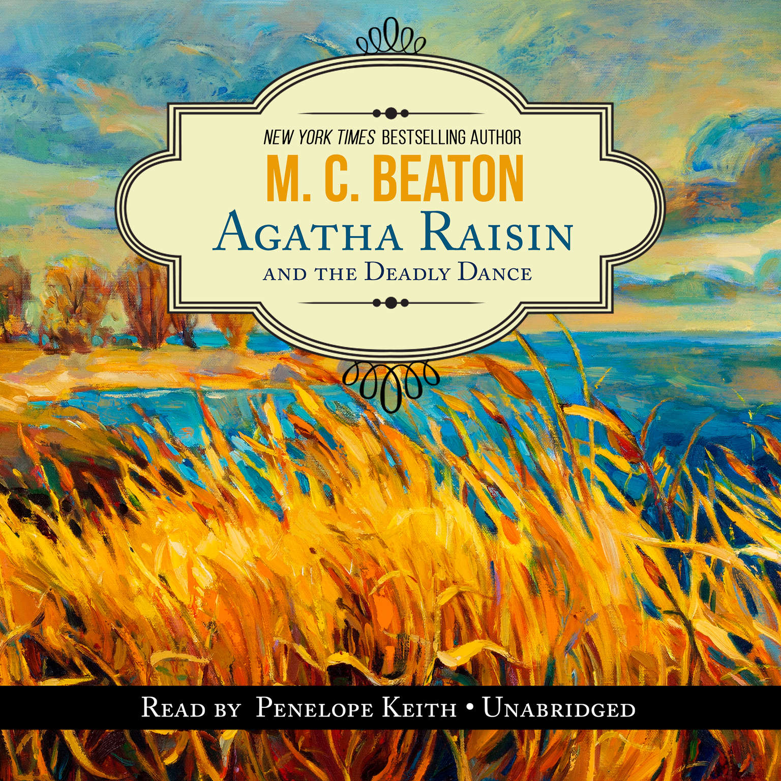 Agatha Raisin and the Deadly Dance Audiobook, by M. C. Beaton