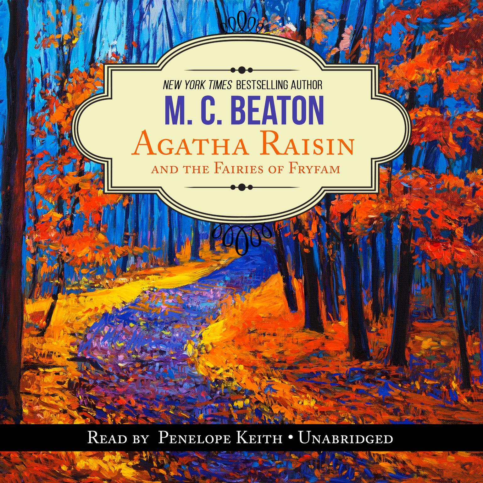 Printable Agatha Raisin and the Fairies of Fryfam Audiobook Cover Art