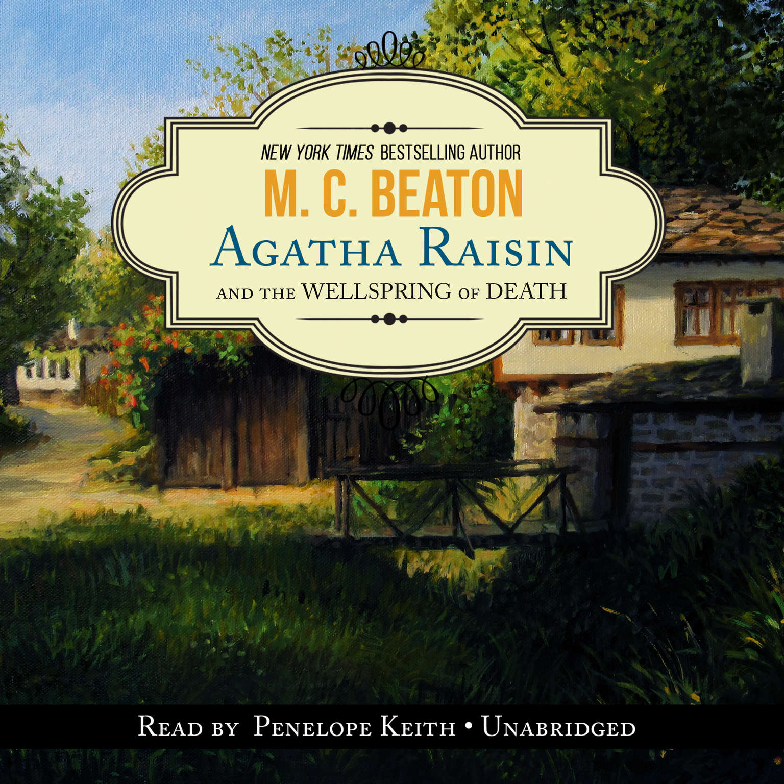 Agatha Raisin and the Wellspring of Death Audiobook, by M. C. Beaton