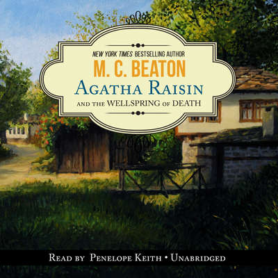 Printable Agatha Raisin and the Wellspring of Death Audiobook Cover Art