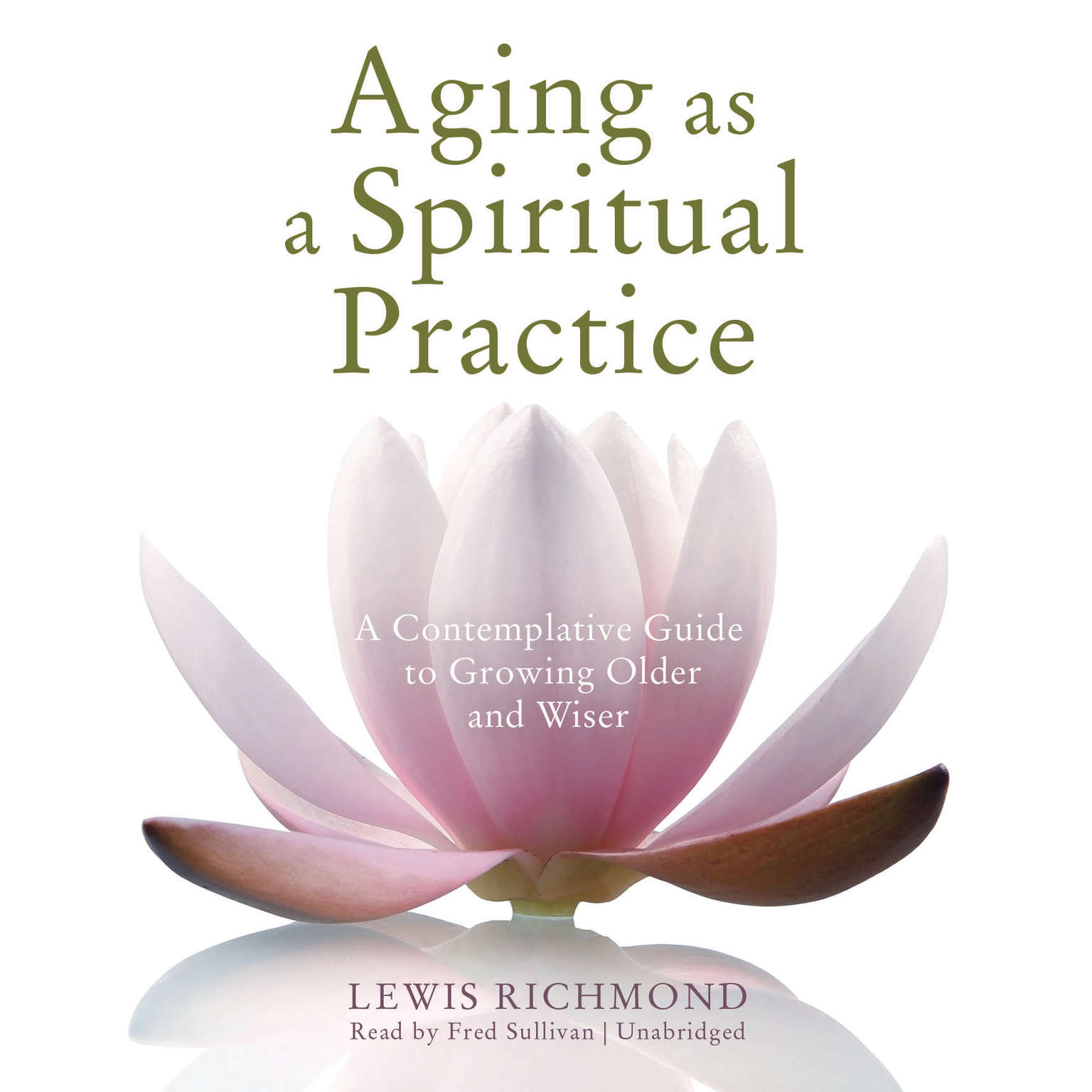 Printable Aging as a Spiritual Practice: A Contemplative Guide to Growing Older and Wiser Audiobook Cover Art