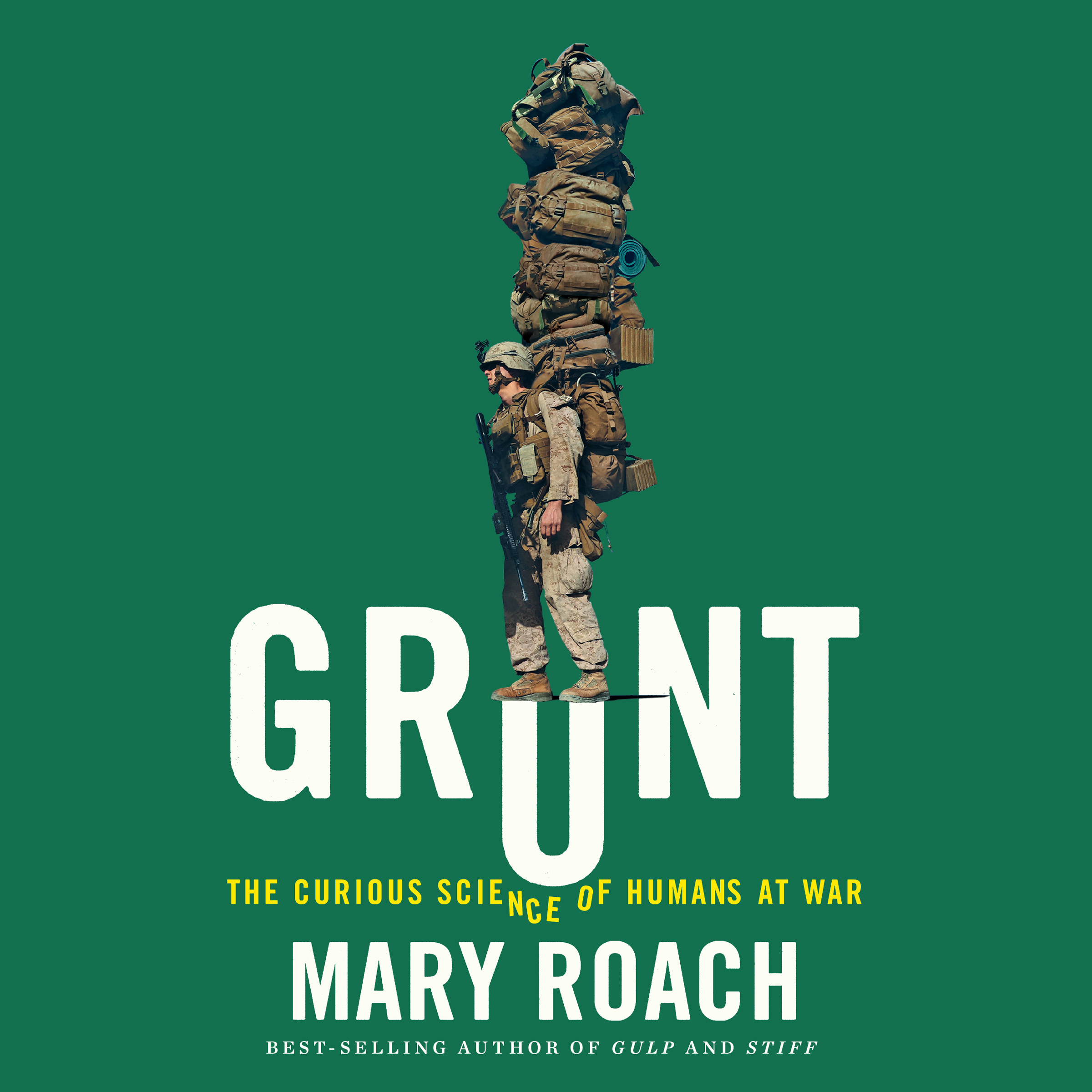 Printable Grunt: The Curious Science of Humans at War Audiobook Cover Art