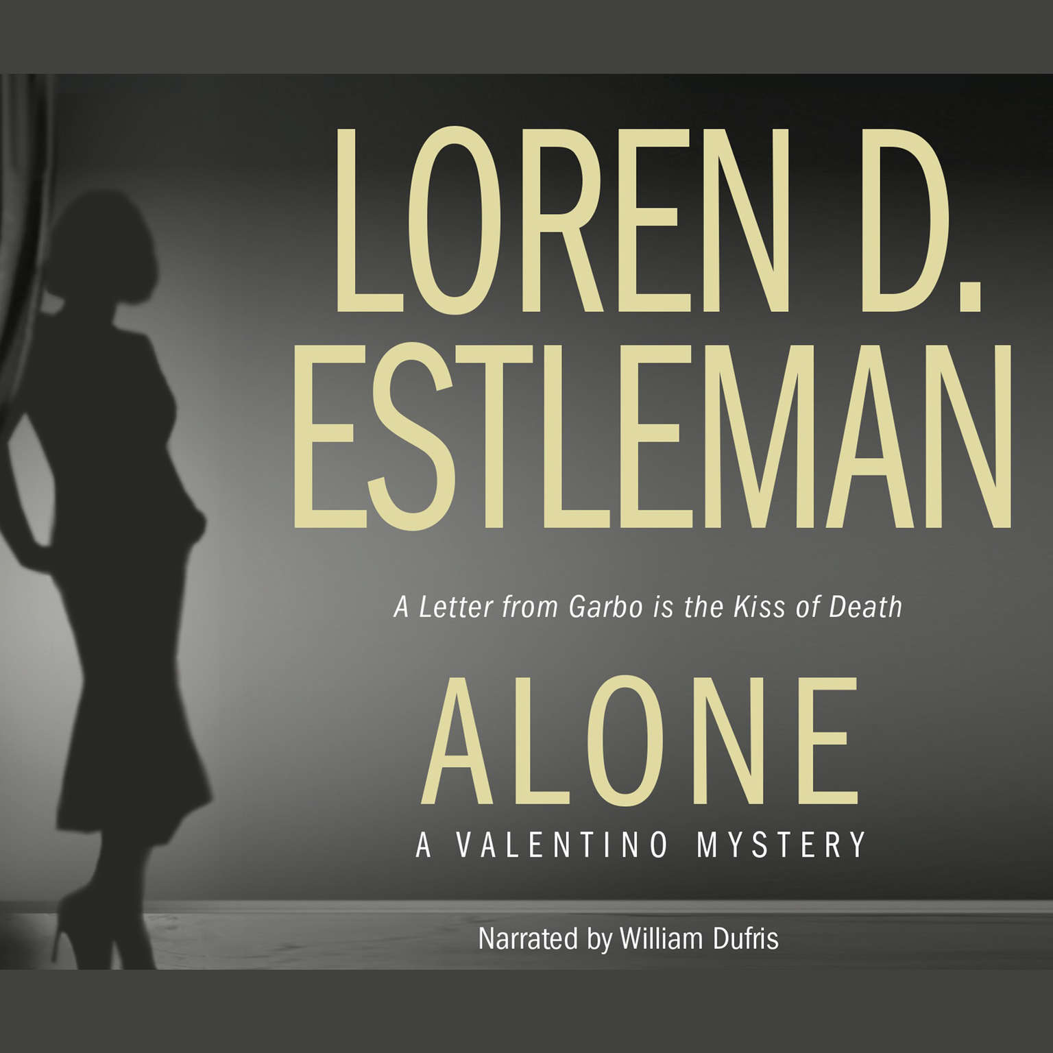Printable Alone Audiobook Cover Art