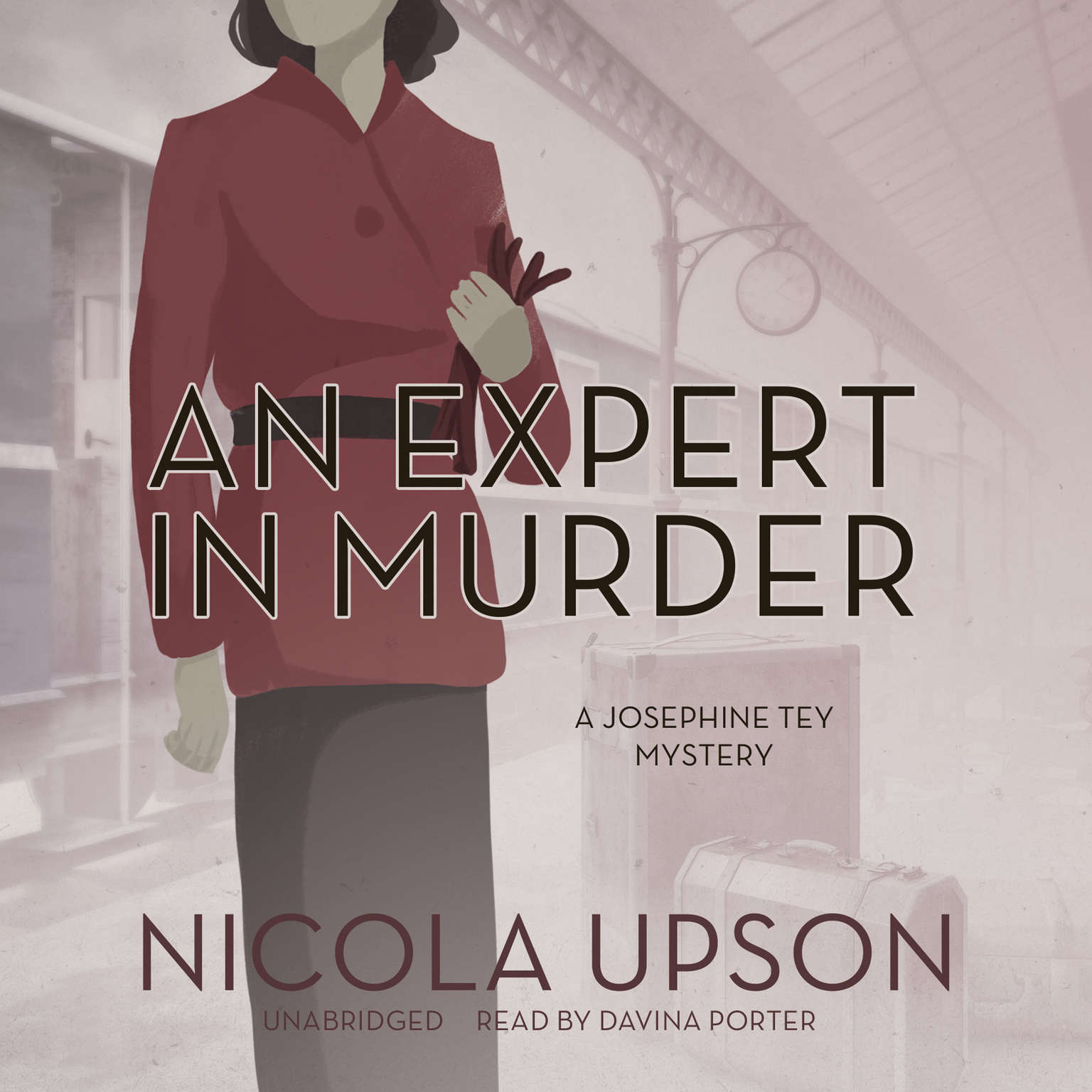 Printable An Expert in Murder: A Josephine Tey Mystery Audiobook Cover Art