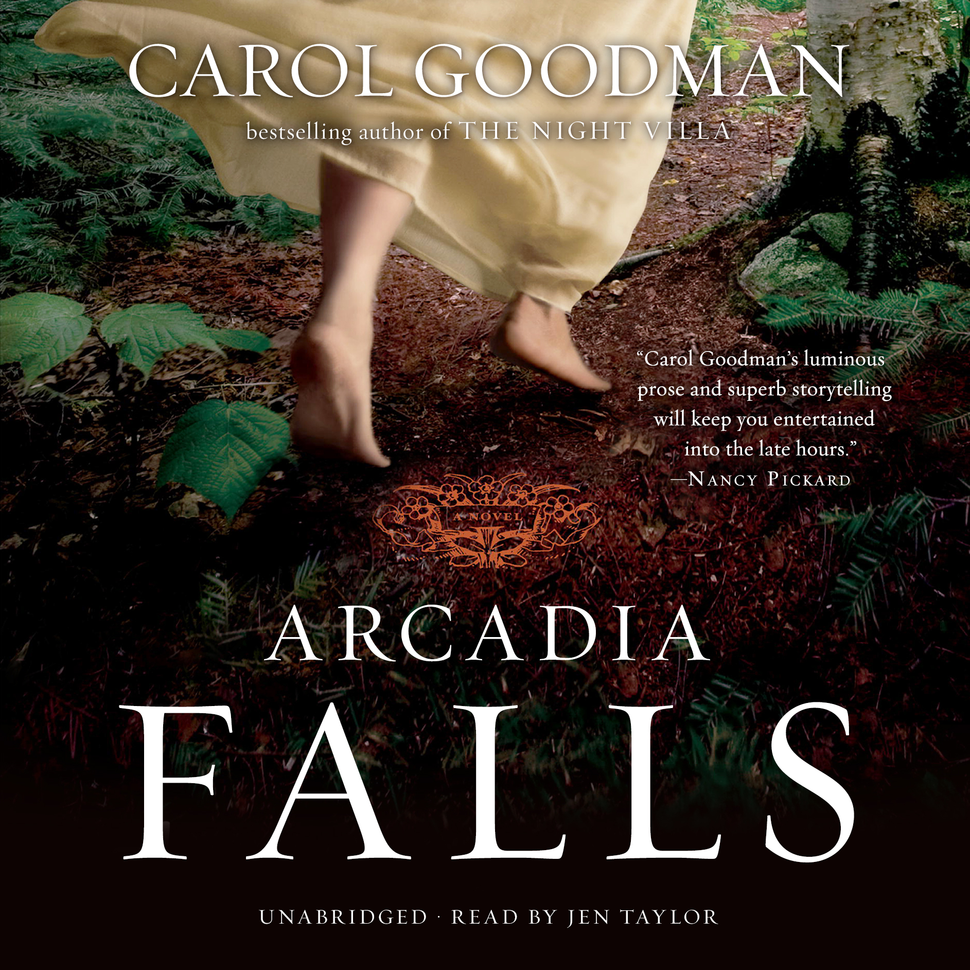 Printable Arcadia Falls Audiobook Cover Art