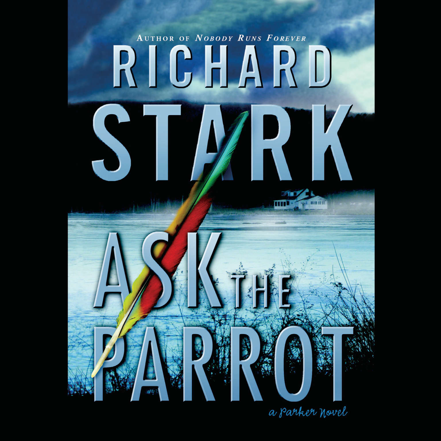 Printable Ask the Parrot Audiobook Cover Art