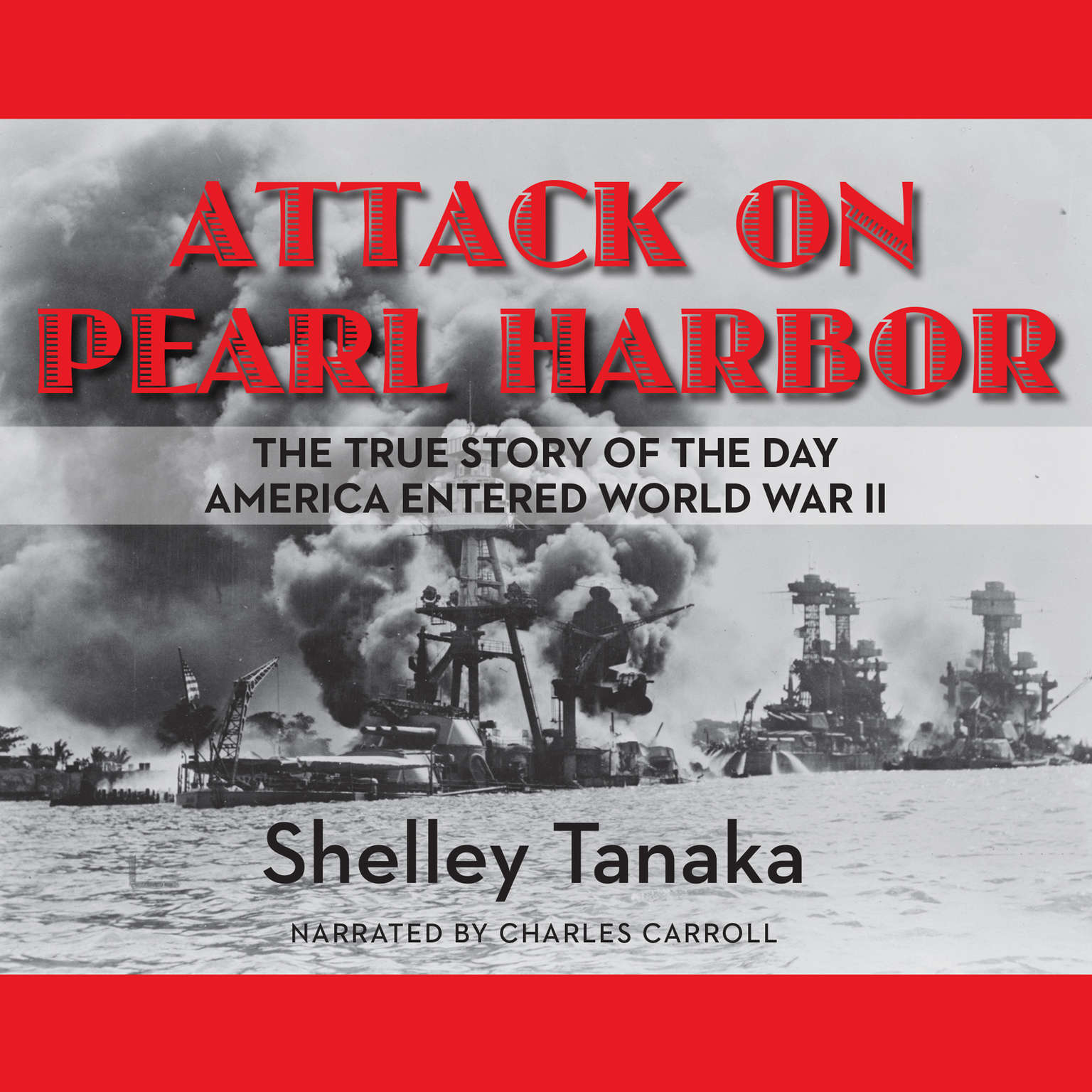 Printable Attack on Pearl Harbor Audiobook Cover Art