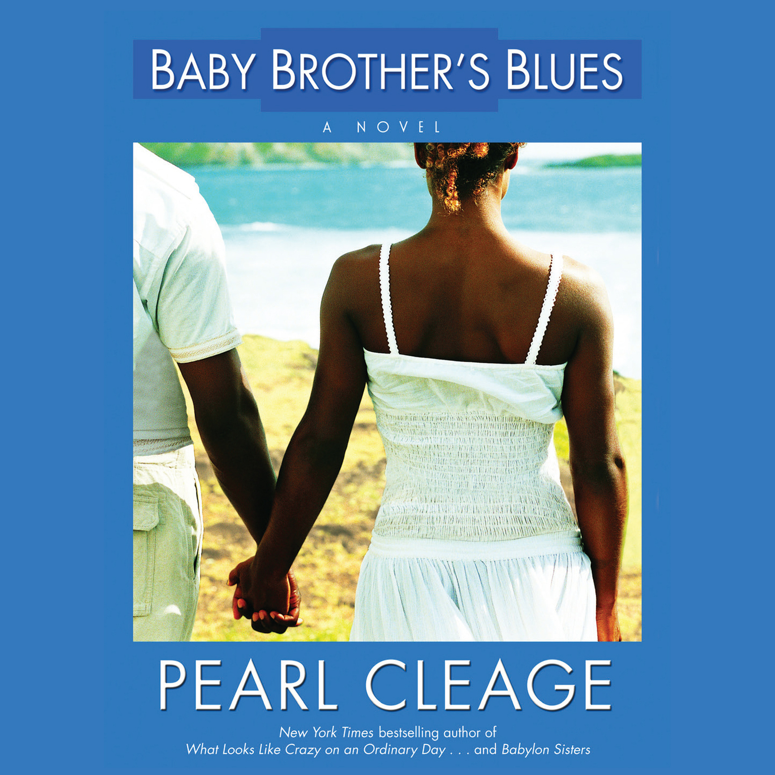 Printable Baby Brother's Blues Audiobook Cover Art
