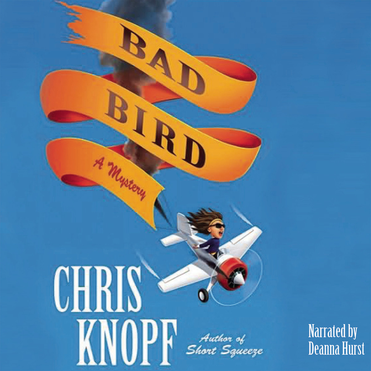 Printable Bad Bird Audiobook Cover Art