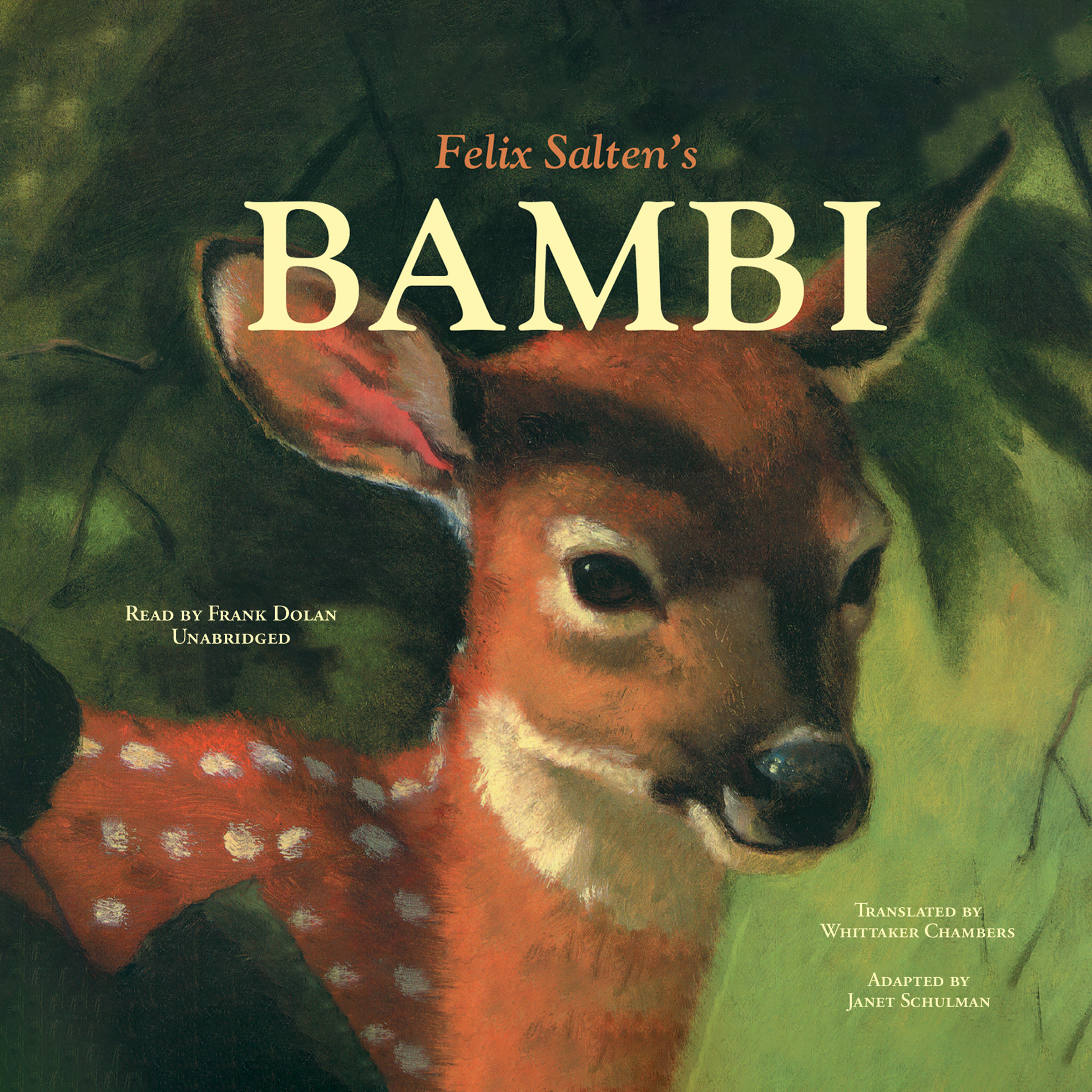 Printable Bambi Audiobook Cover Art