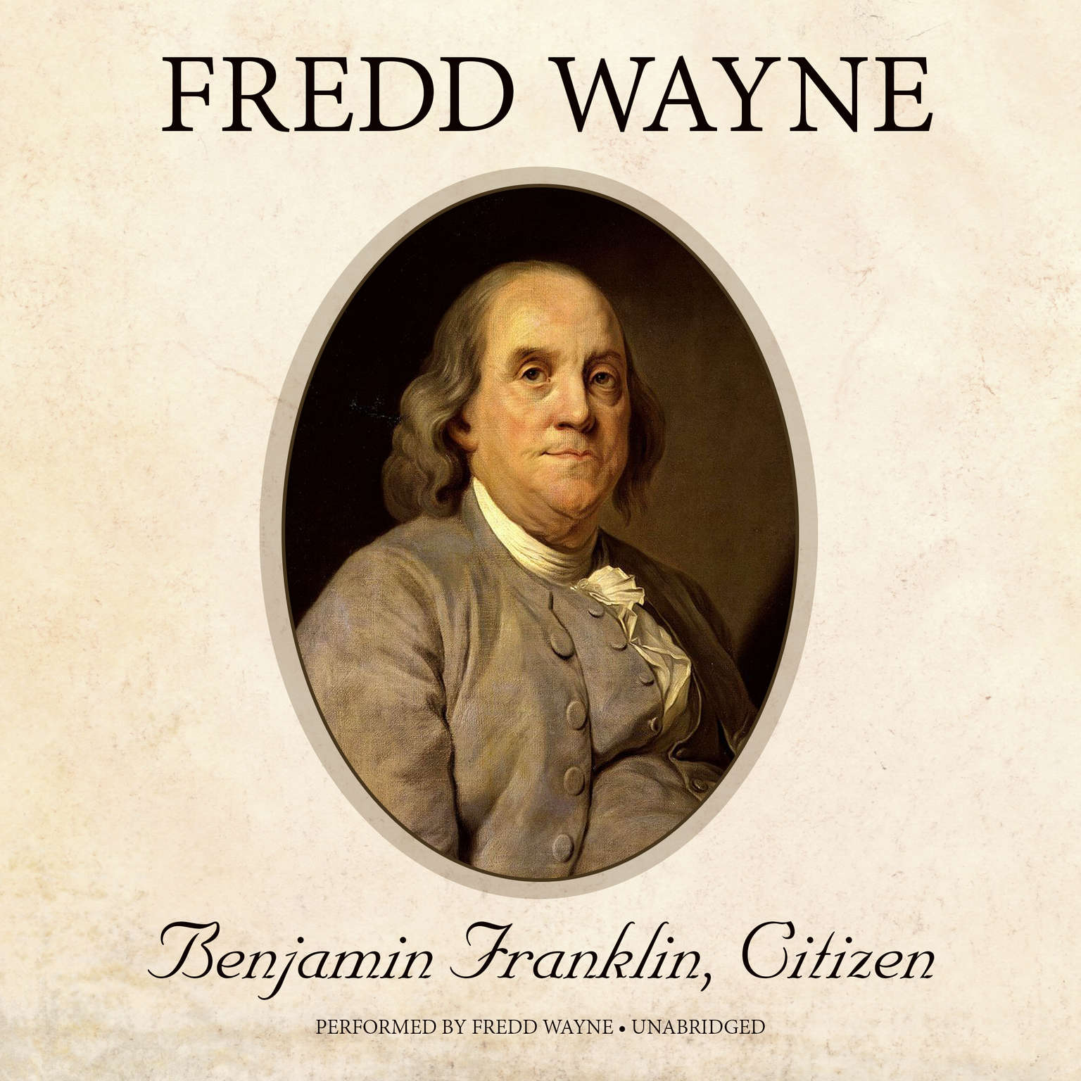 Printable Benjamin Franklin, Citizen Audiobook Cover Art