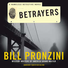 Betrayers: A Nameless Detective Novel Audiobook, by Bill Pronzini