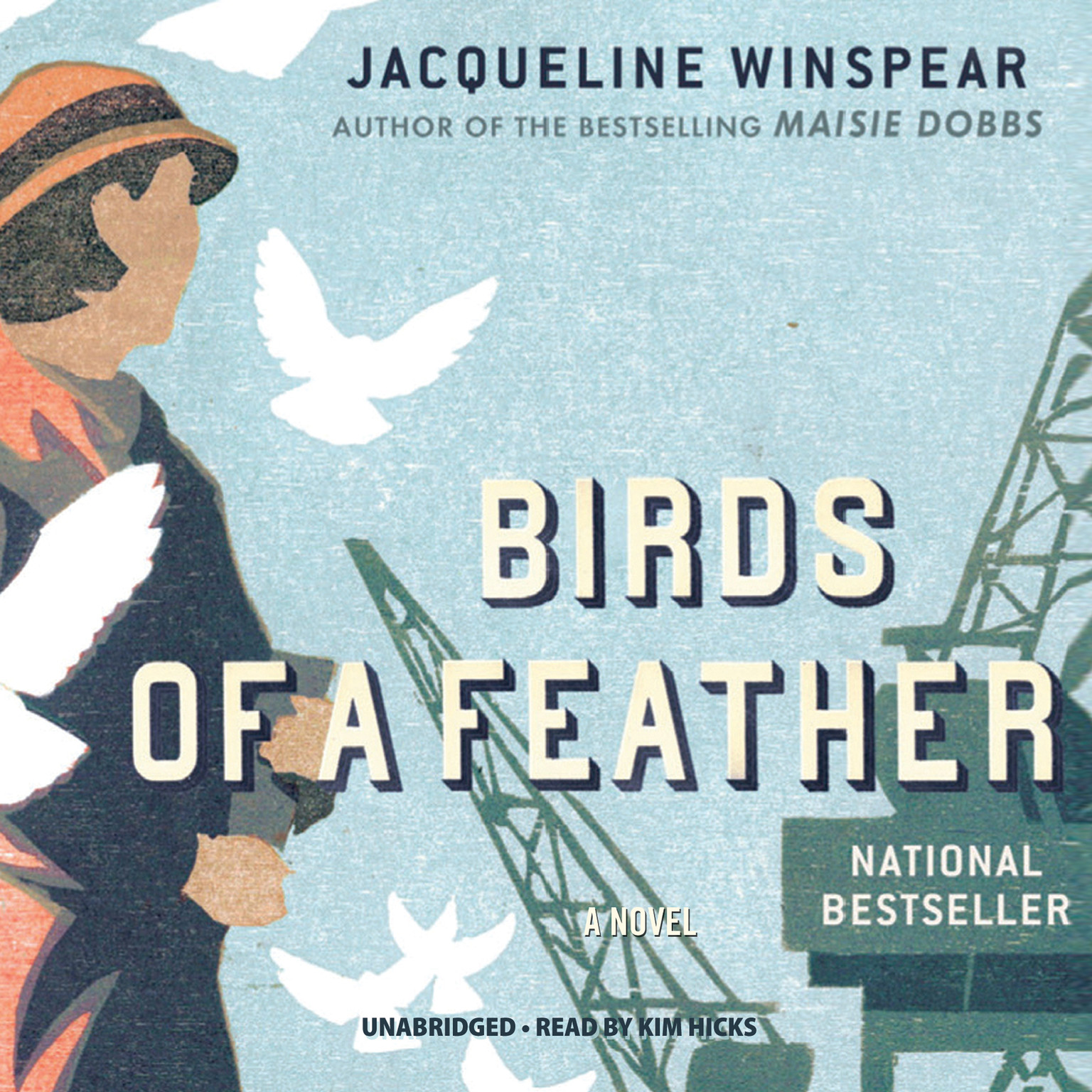 Printable Birds of a Feather: A Novel Audiobook Cover Art