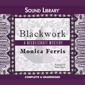 Blackwork, by Monica Ferris