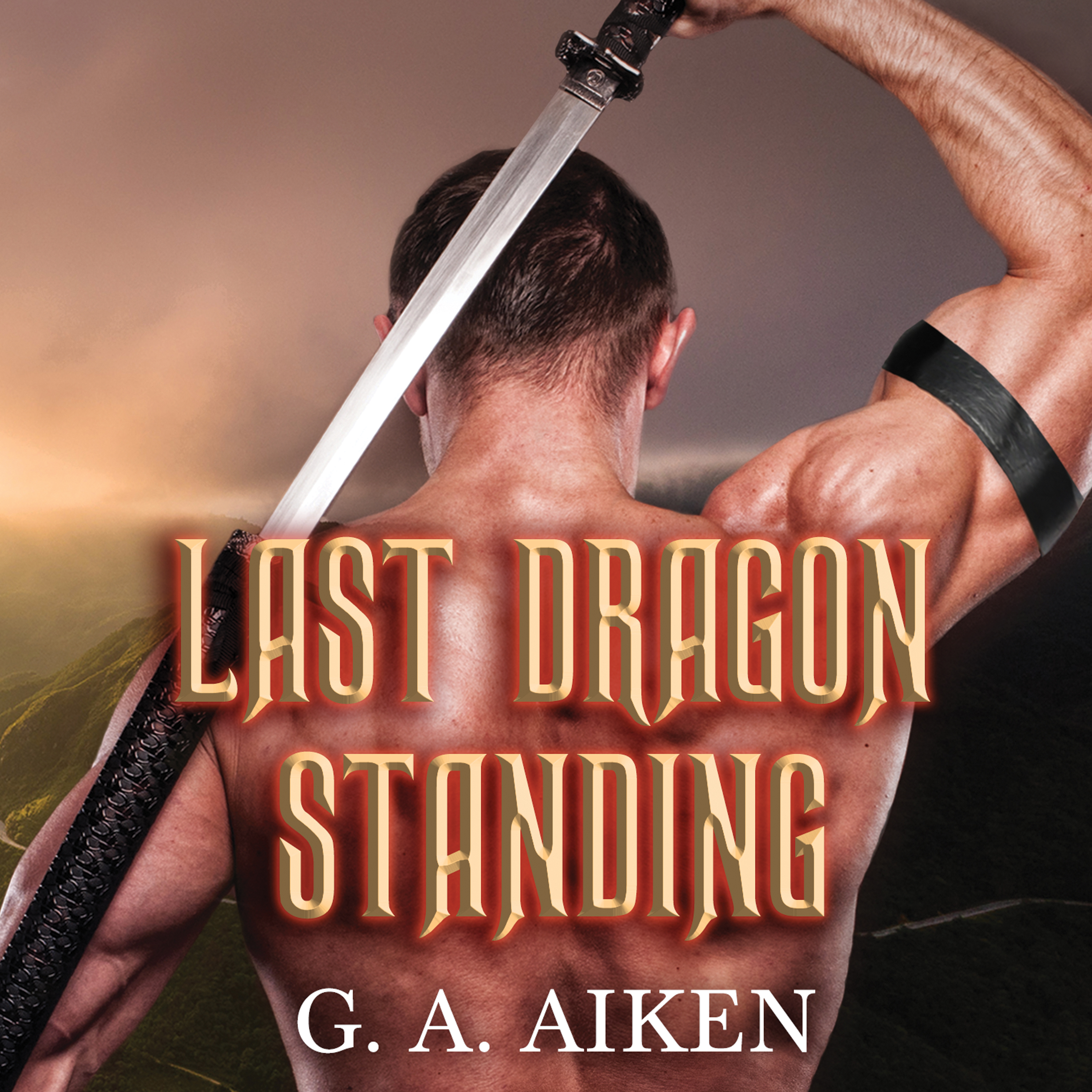 Printable Last Dragon Standing Audiobook Cover Art