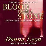 Blood from a Stone Audiobook, by Donna Leon