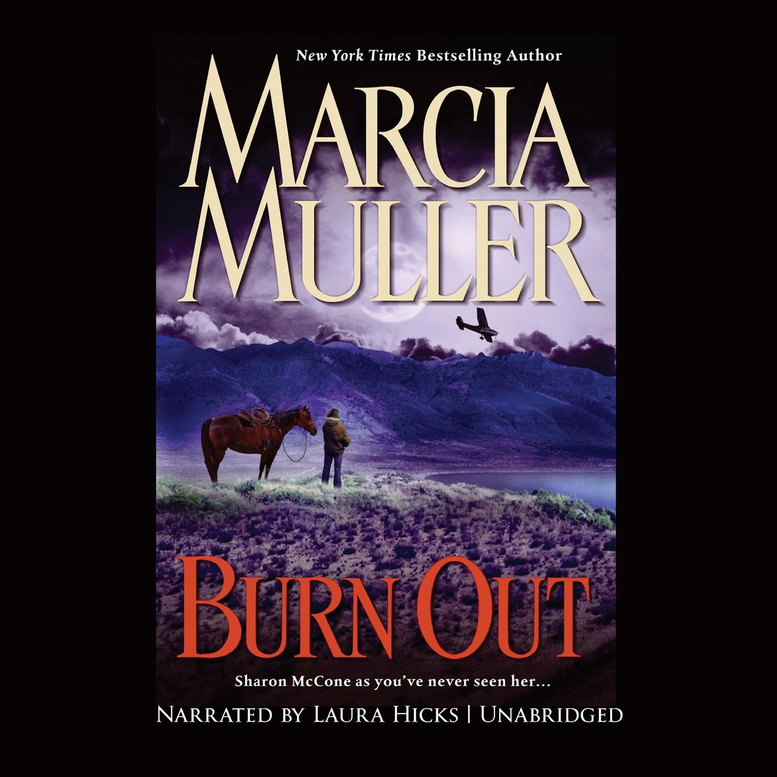 Printable Burn Out Audiobook Cover Art