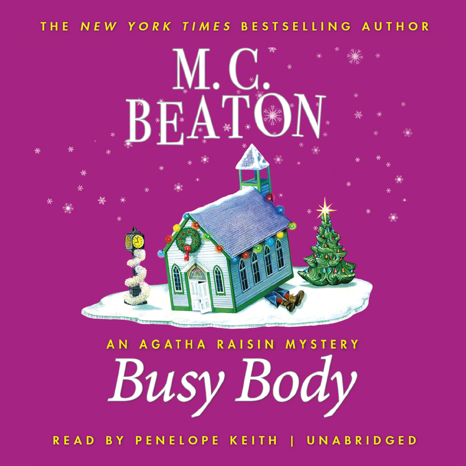 Printable Busy Body: An Agatha Raisin Mystery Audiobook Cover Art