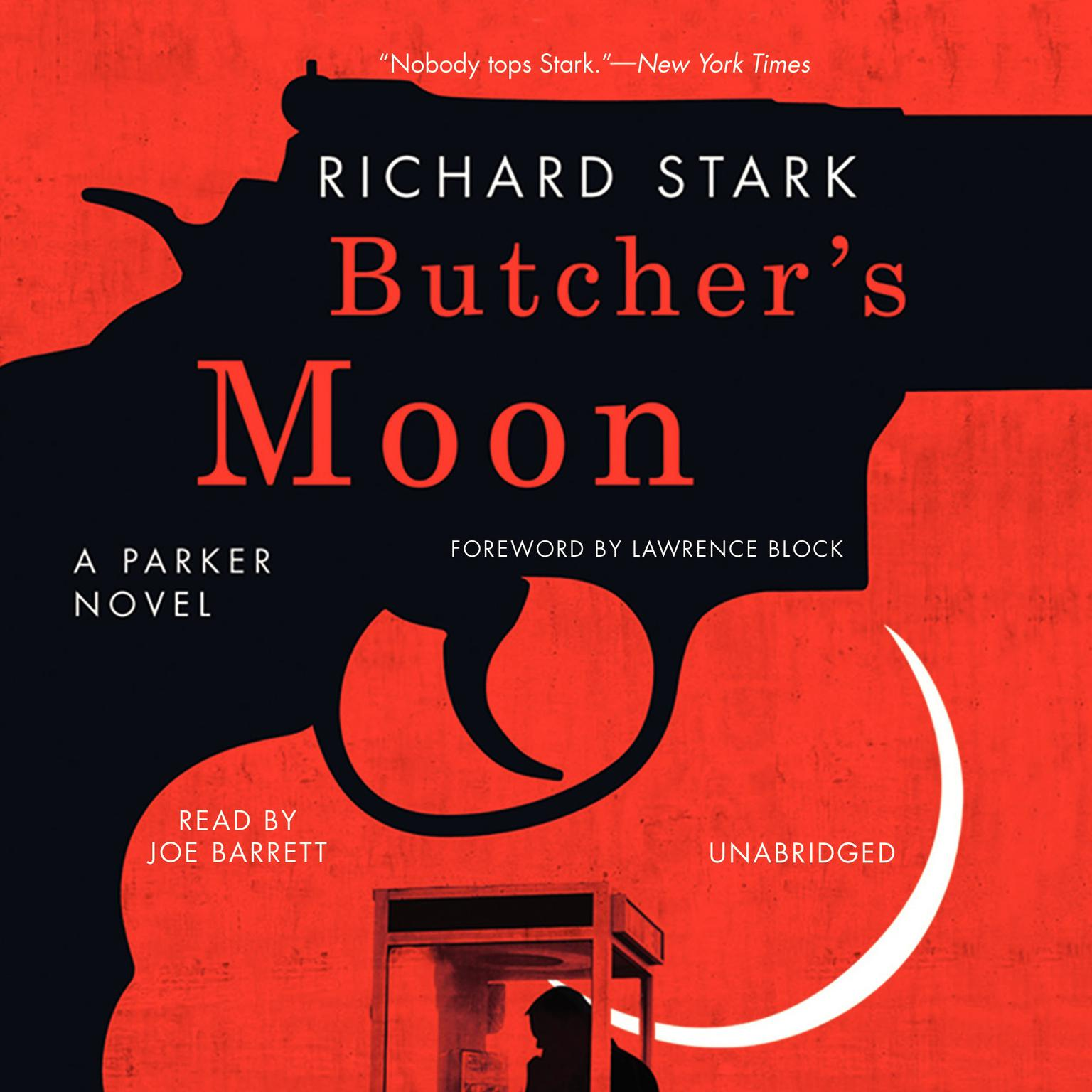 Printable Butcher's Moon Audiobook Cover Art