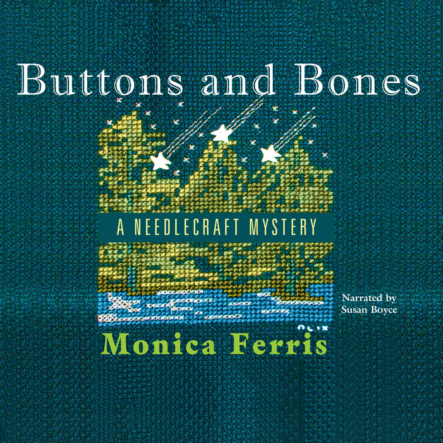 Printable Buttons and Bones Audiobook Cover Art