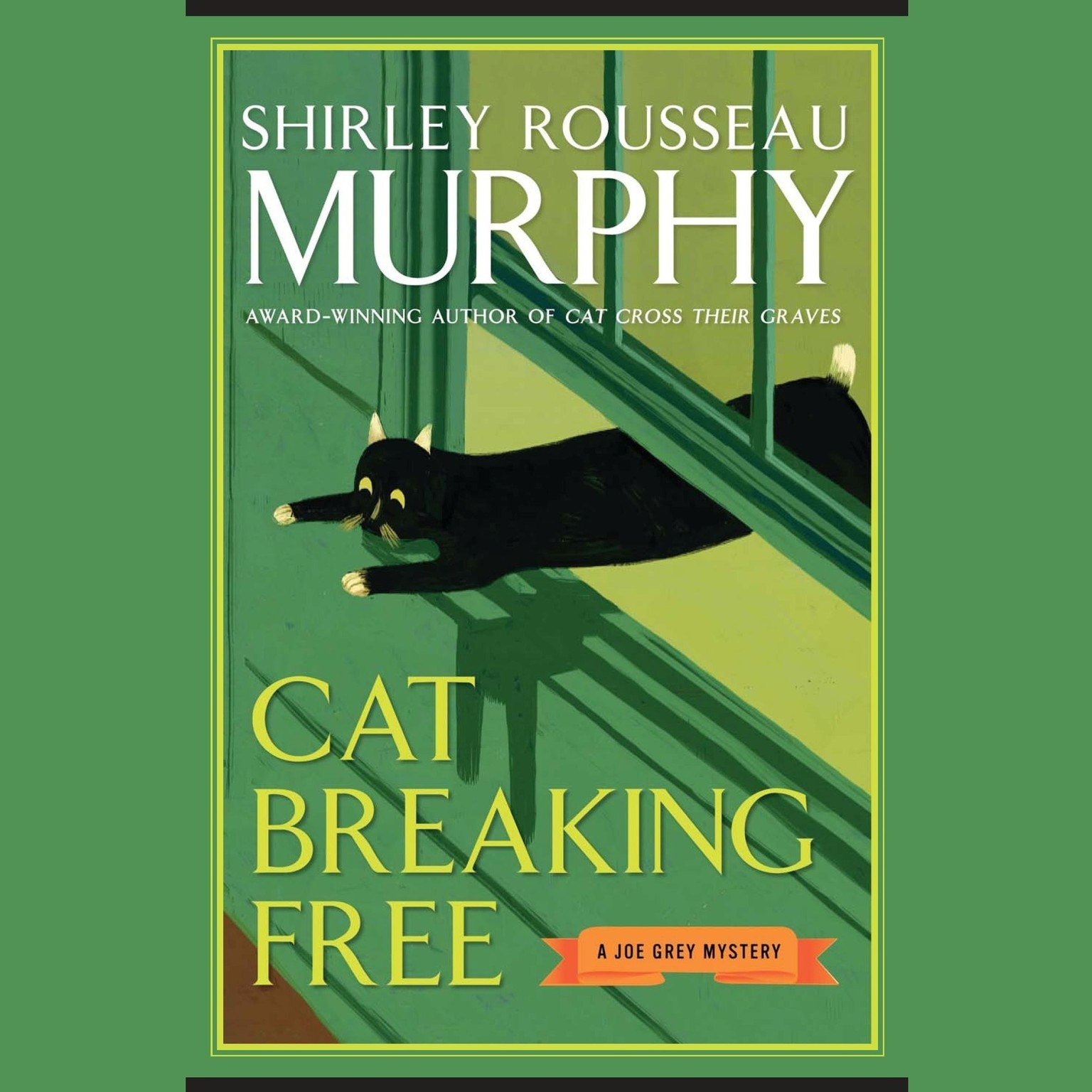 Printable Cat Breaking Free Audiobook Cover Art